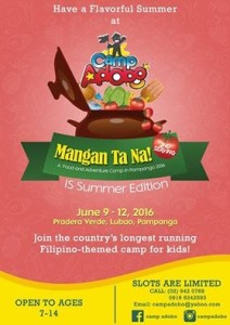 Summer camp Philippines 2016- Manila For Kids
