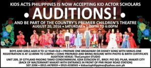 KidsActs auditions