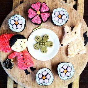 sushi-making