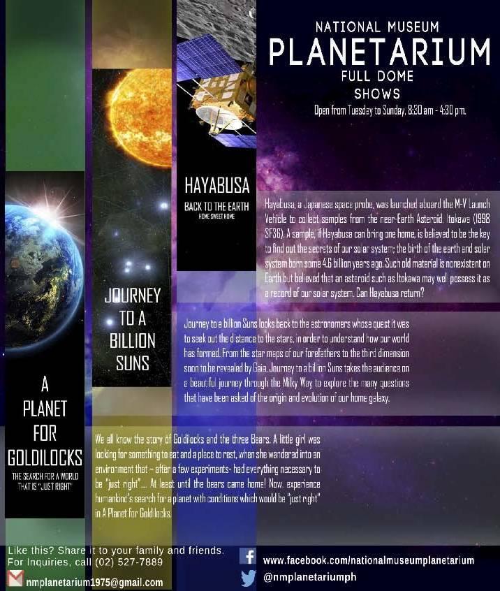 national museum planetarium