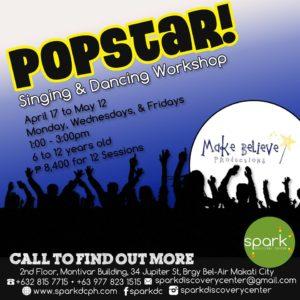 Popstar! A Singing and Dancing Workshop