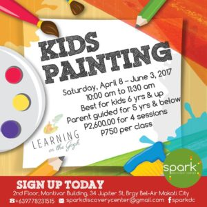 Learning on the Gogh – Kids Painting Class