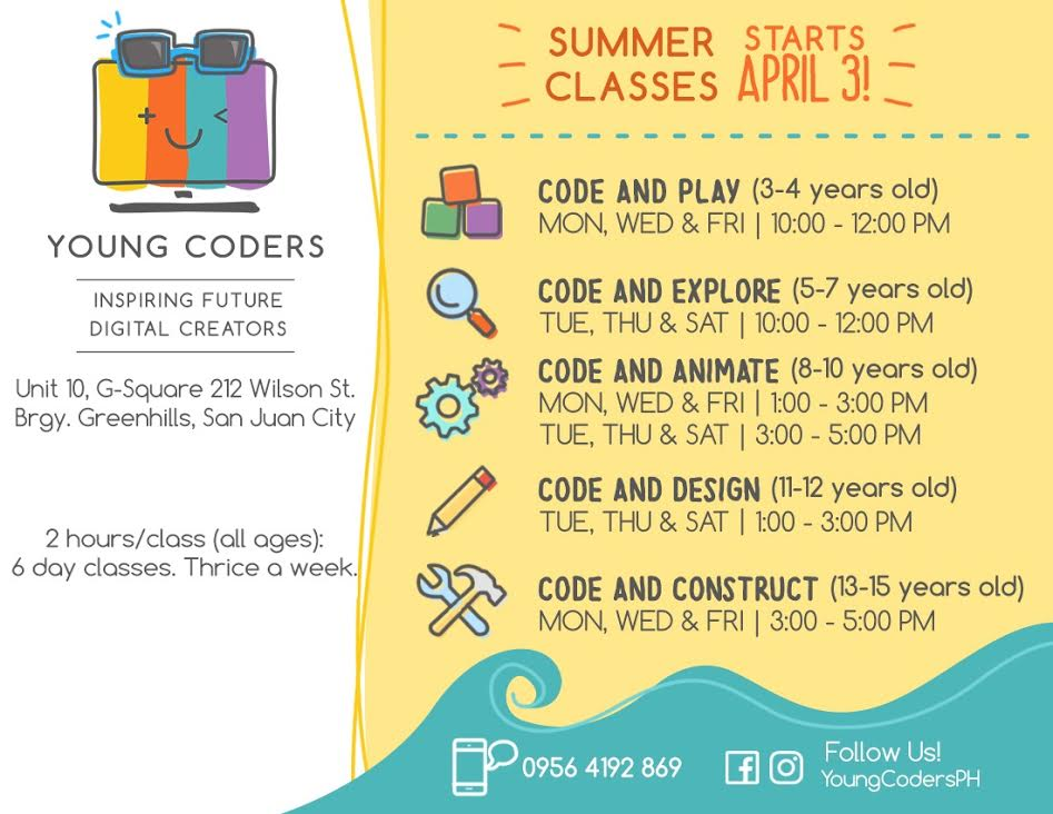 Summer class Manila For Kids