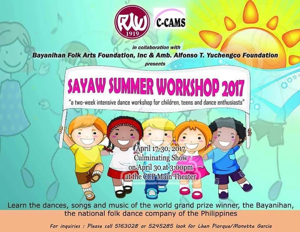 summer 2017 manila for kids